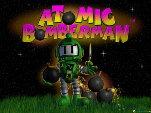 Atomic Bomberman - title cover