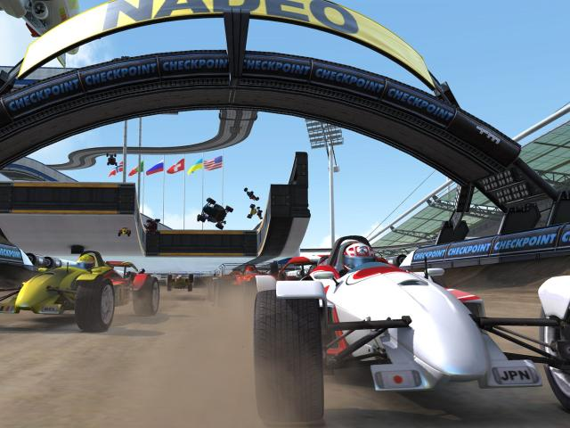 Trackmania United - title cover