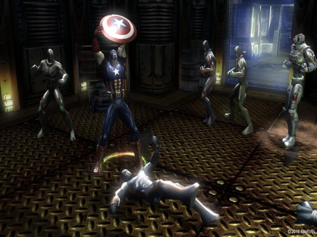 Marvel - Ultimate Alliance - title cover
