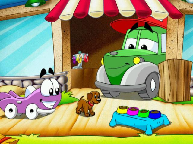 Putt-Putt: Peps Birthday Surprise - title cover