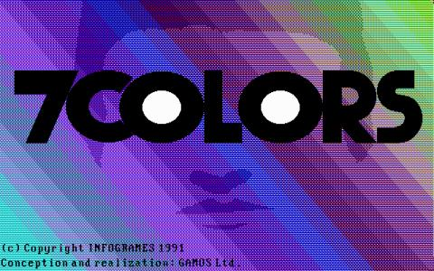 7 Colors - title cover