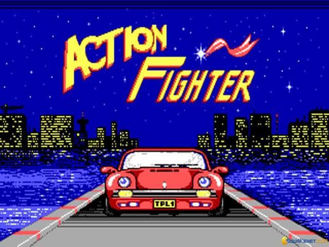 Action Fighter - title cover