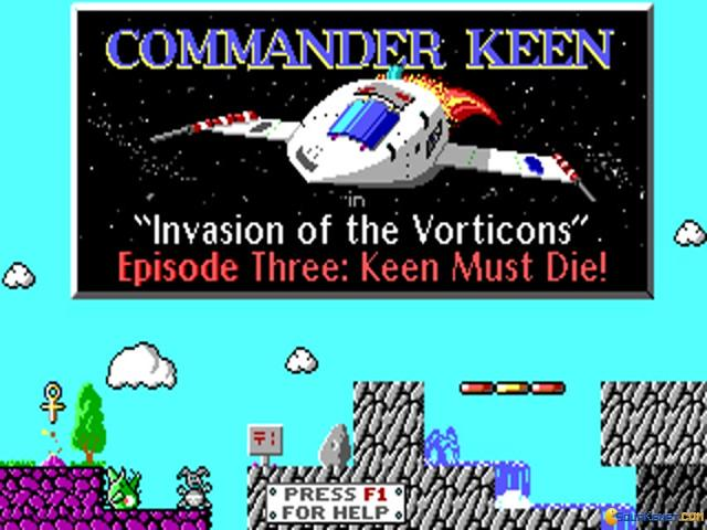 Commander Keen 3 - title cover
