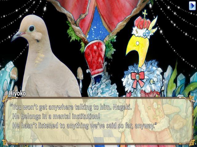 Hatoful Boyfriend: Holiday Star - title cover