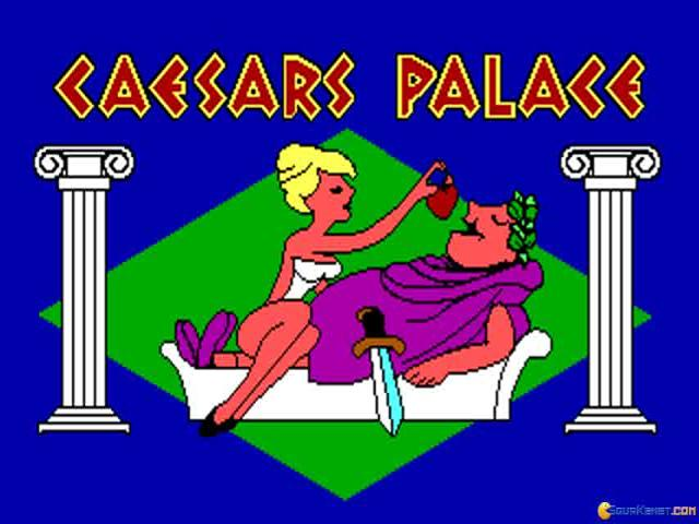 Caesar's Palace - title cover