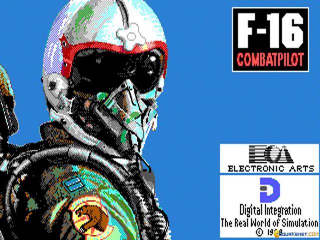 F-16 Combat Pilot - title cover