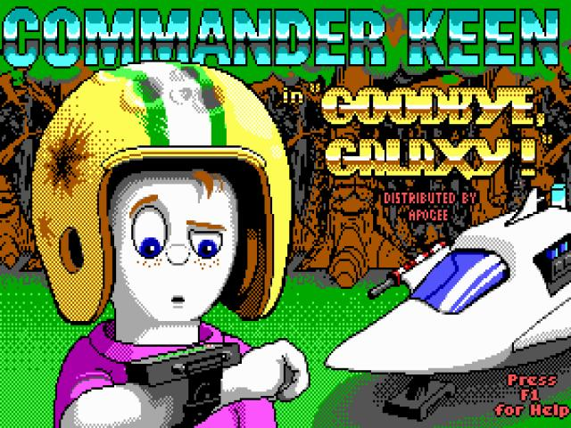Commander Keen 4 - game cover