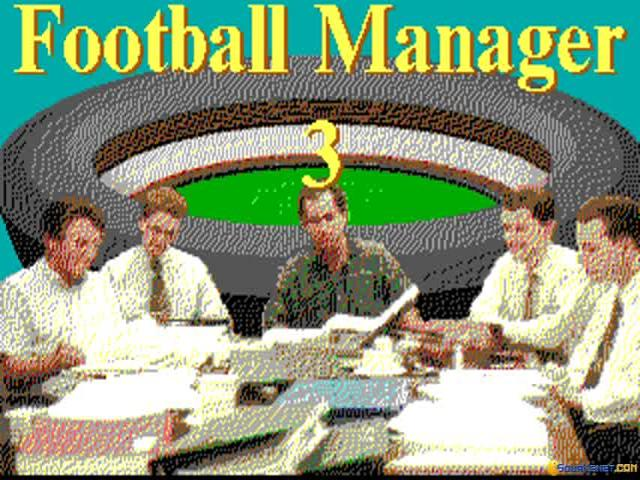 Football Manager 3 - title cover