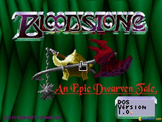 Bloodstone - title cover
