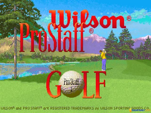 Wilson Prostaff Golf - game cover