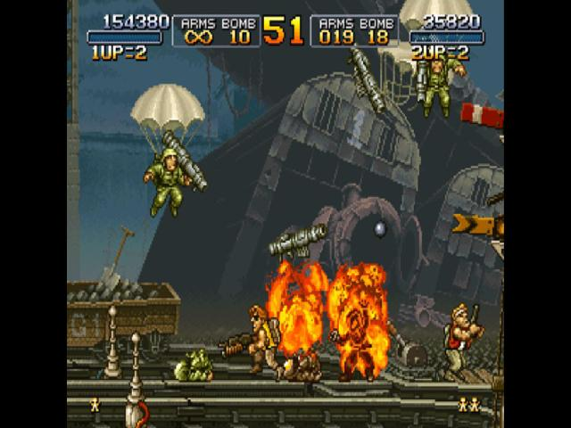 Metal Slug - title cover