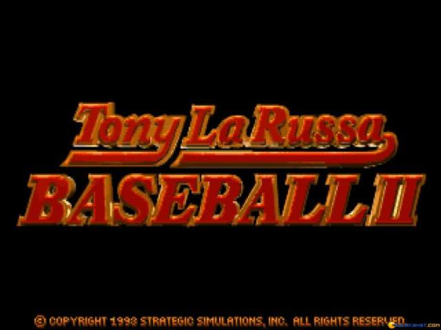 Tony La Russa Baseball 2 - game cover