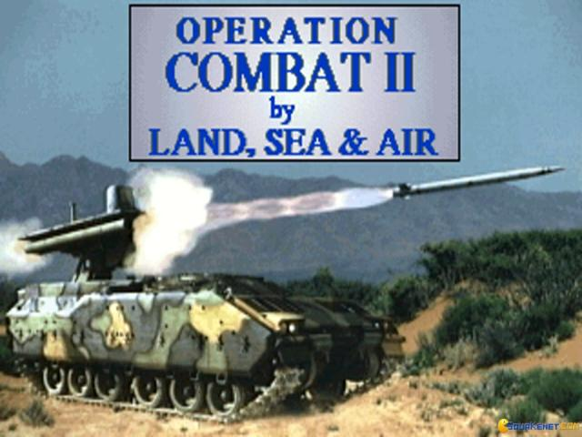 Operation Combat 2: by Land, Sea and Air - game cover