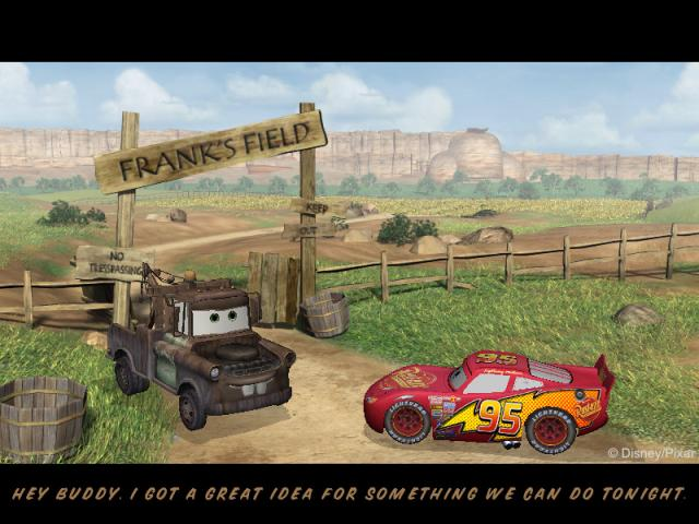 Cars: Radiator Springs Adventures - title cover