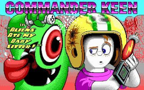 Commander Keen 6 - game cover