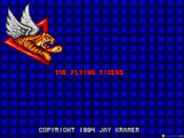 Flying Tigers - game cover