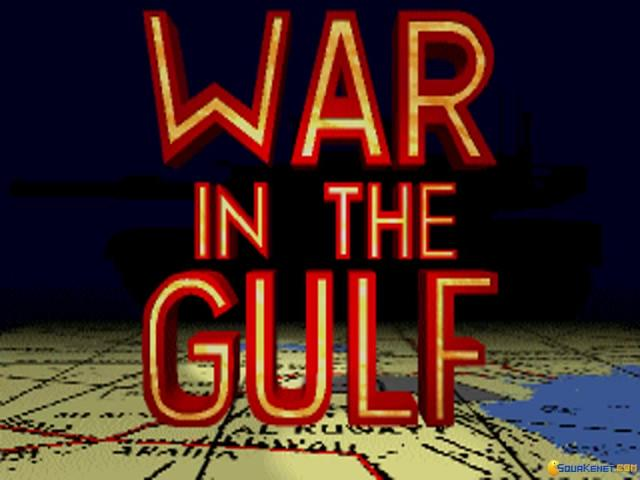 War in the Gulf - game cover