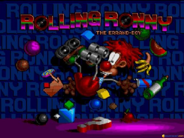 Rolling Ronny - title cover