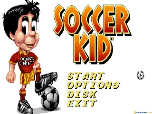Soccer Kid - title cover