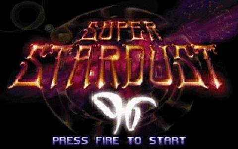 Super Stardust - title cover