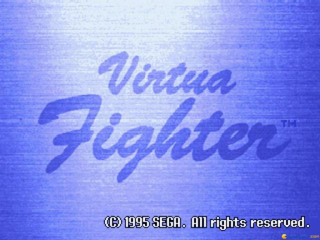 Virtua Fighter - title cover
