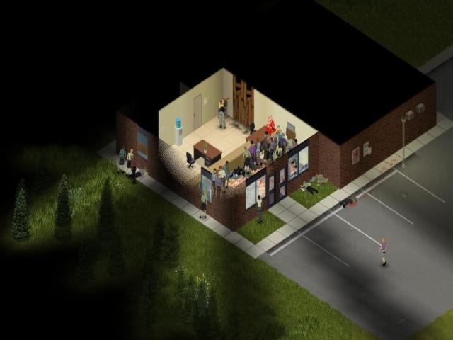Project Zomboid - title cover