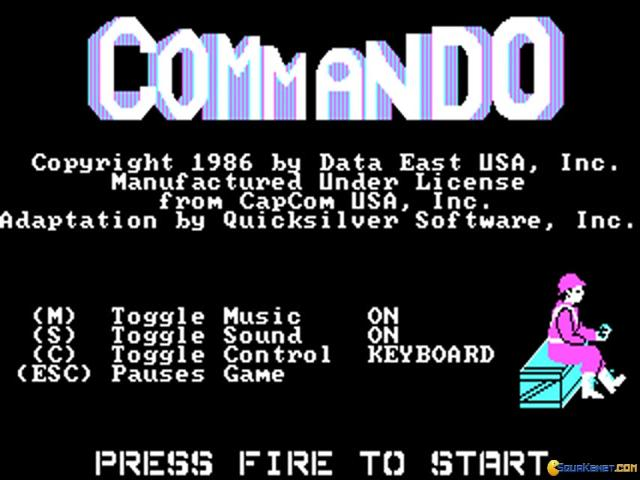 Commando - title cover