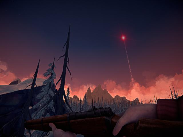 The Long Dark - title cover
