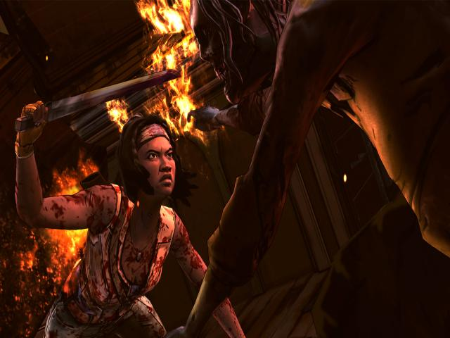 The Walking Dead: Michonne - A Telltale Miniseries - title cover