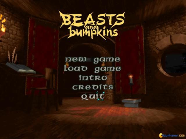 Beasts and Bumpkins - game cover