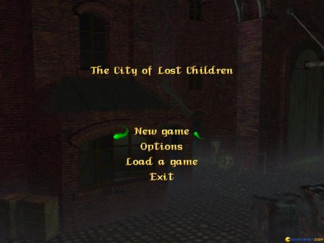 The City of Lost Children - title cover