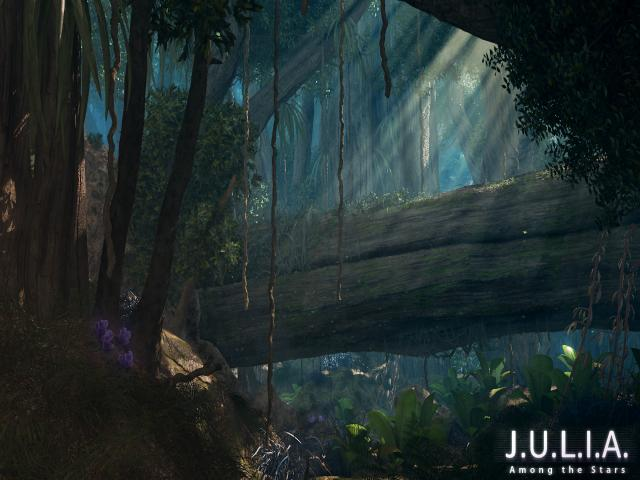 J.U.L.I.A. Among the Stars - title cover