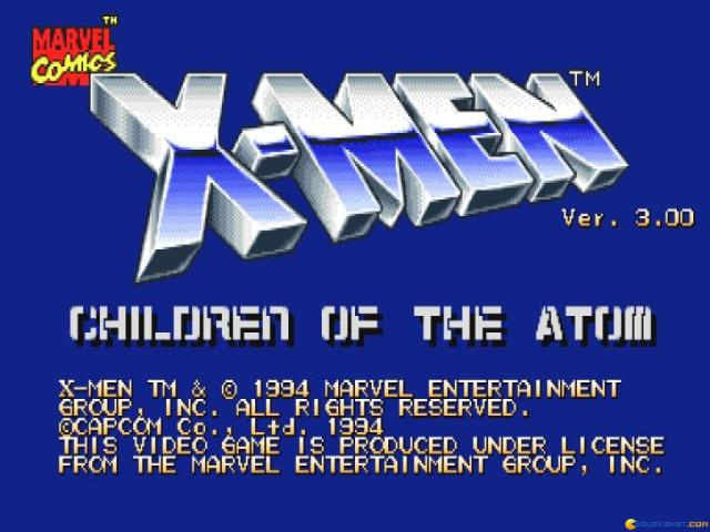 X-Men: Children of the Atom - title cover