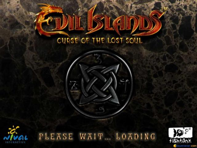 Evil Islands - title cover