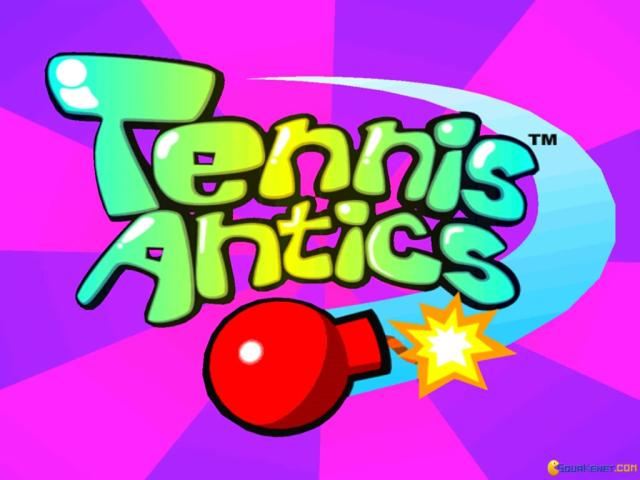 Tennis Antics - title cover