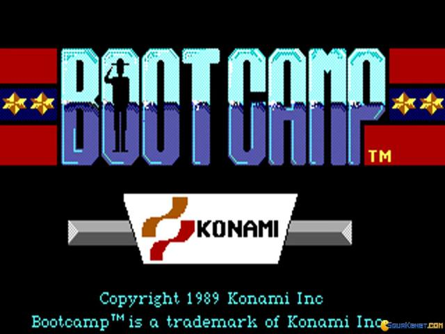 Boot Camp - title cover