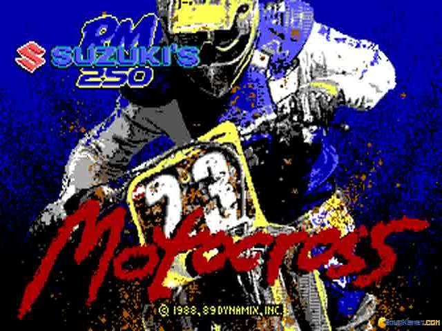 Motocross - game cover