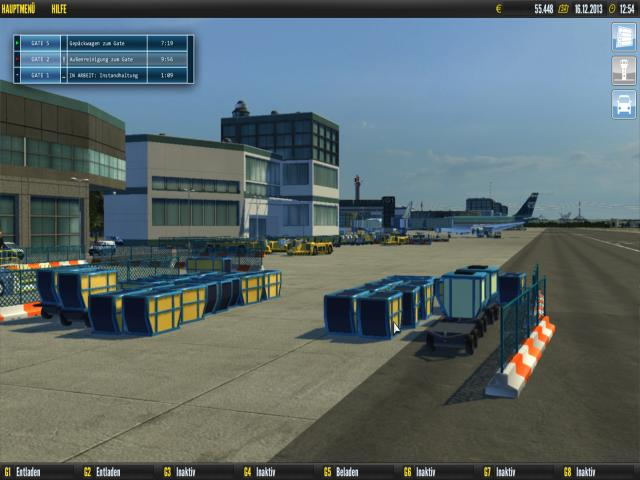Airport Simulator 2014 - title cover
