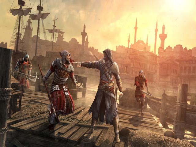 Assassin's Creed Revelations - title cover