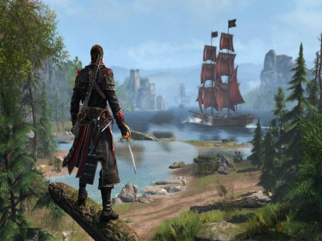 Assassin's Creed Rogue - title cover