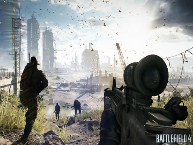 Battlefield 4 - title cover