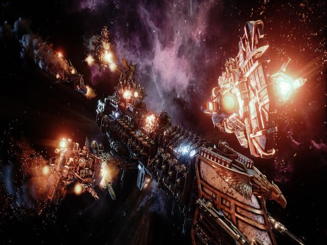 Battlefleet Gothic: Armada - title cover