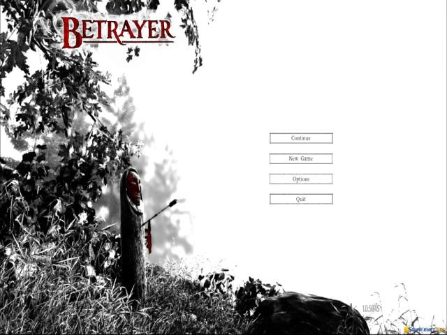 Betrayer - title cover