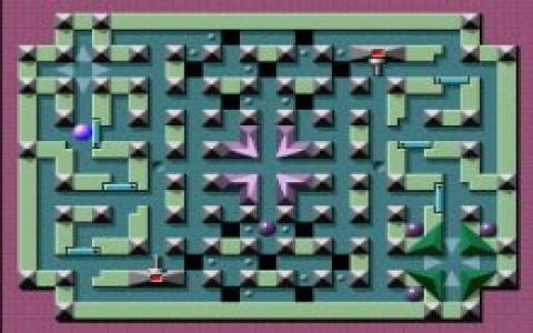 Mega Maze - title cover