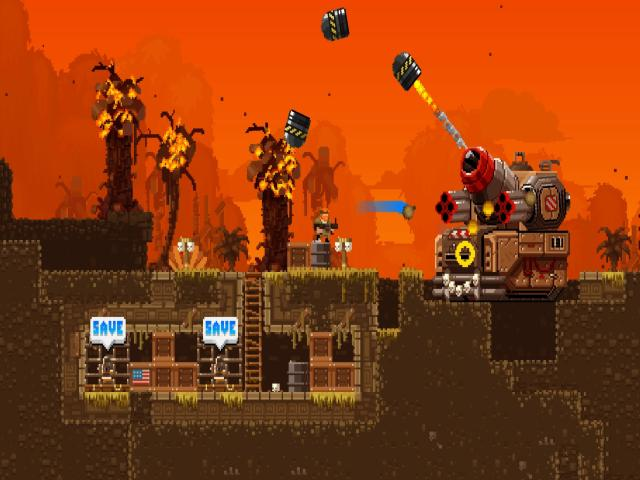 Broforce - title cover