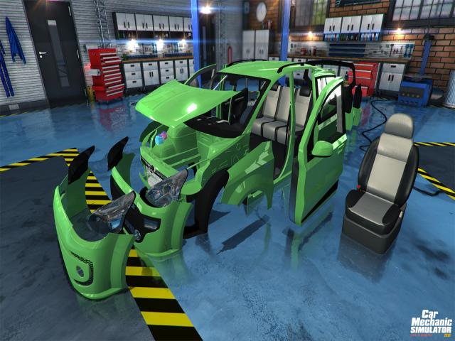 Car Mechanic Simulator 2015 - game cover