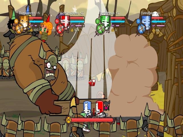 Castle Crashers - title cover
