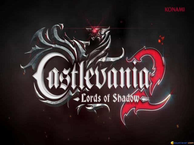Castlevania: Lords of Shadow 2 - title cover