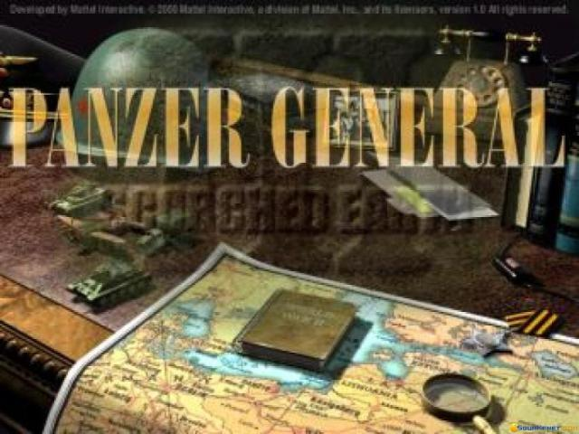 Panzer General 3 - title cover