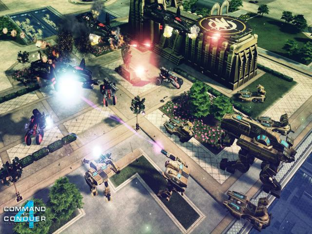Command & Conquer 4: Tiberian Twilight - title cover